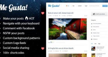 Me Gusta! – magazine wordpress theme(update 1.0)