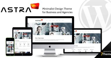 Astra – 多用途商业企业WordPress主题[1.0]