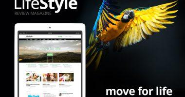 LifeStyle – 响应式新闻杂志型WordPress主题[1.1]