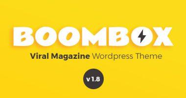 BoomBox – 强大的专业娱乐分享类WordPress主题汉化版